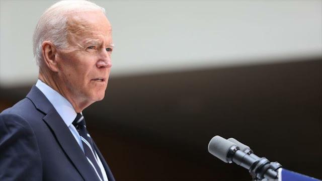 """Biden denuncia la """"miope"""" política exterior de Trump"""