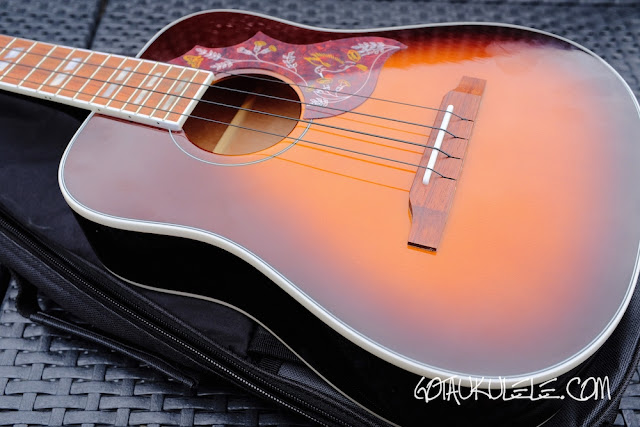 Epiphone Hummingbird Tenor Ukulele body