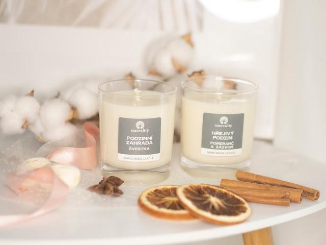 vôňa jesene | sójové sviečky renovality
