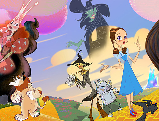 The wizard of oz 19 jpg click for details the wizard of oz 1982 anime