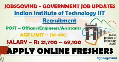 IIT Recruitment 2021