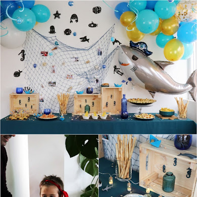 Under The Sea DIY Birthday Party