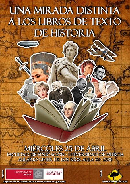 """Conferencia: """"una mirada distinta a los libros de texto de historia"""""""