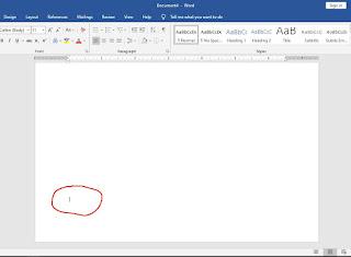 Membuat Margins Berbeda Dalam Satu Dokument Microsoft Word