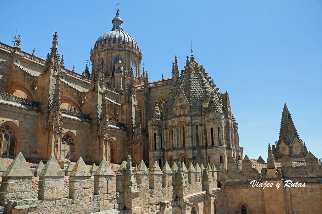 Torre del Gallo de la catedral vieja de Salamanca