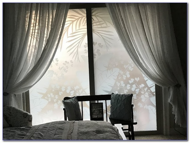 Best Tropical Oasis Etched GLASS WINDOW Film ideas