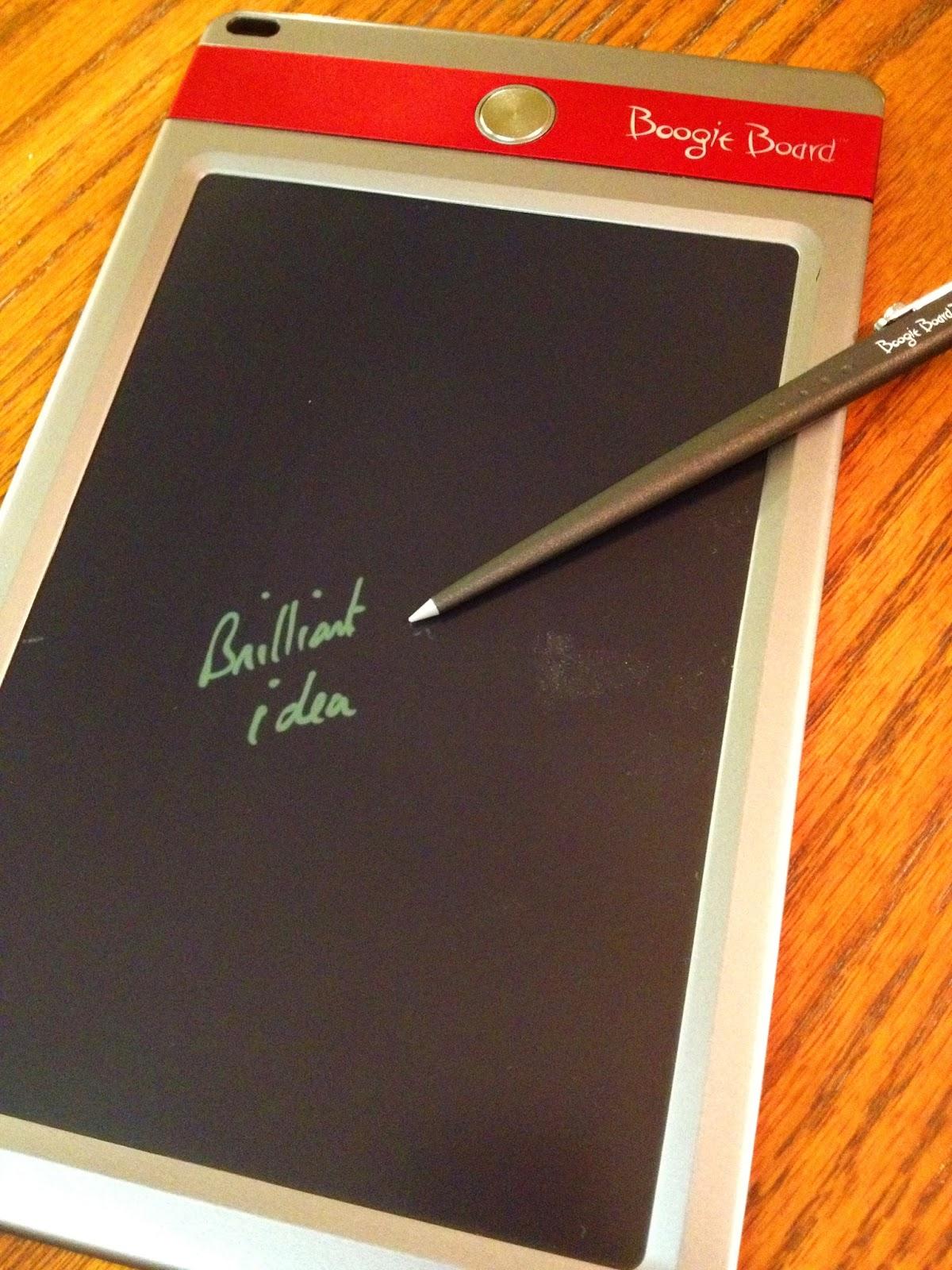 Writing on an ipad