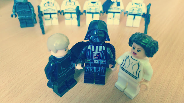 Luke, Darth Vader and Leia Star Wars funny pictures