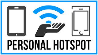 Aktifkan hotspot wifi android
