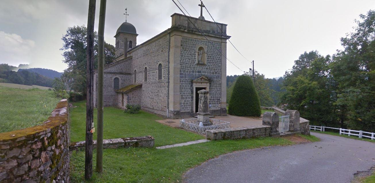 Eglise d'Azolette