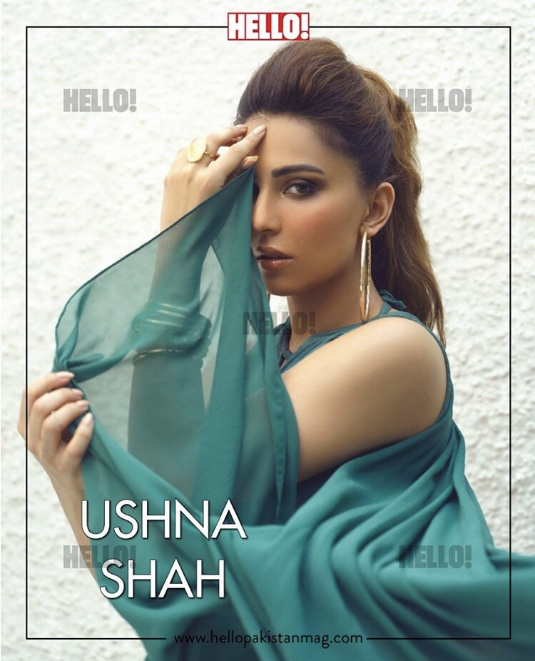 Ushna Shah Stunning looks in New Photoshoot