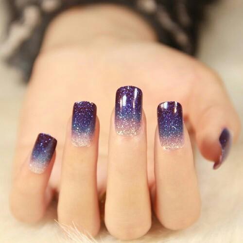 Uñas Universo Para Un Look De Otra Galaxia Mavis Glam Uñas Decoradas