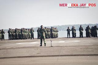 Apel Khusus: Koarmada II Gelar Penghormatan Terhadap Prajurit KRI Nanggala- 402