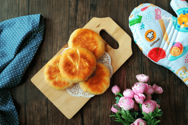 English muffin tanpa oven