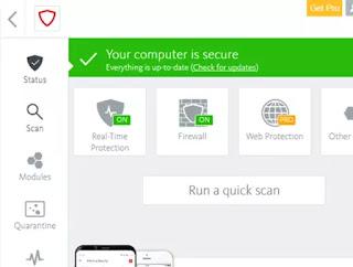 Antivirus gratuito