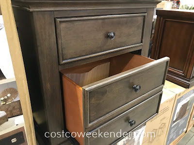 Complete your bedroom set with a couple of the Universal Broadmoore Furniture Nightstands