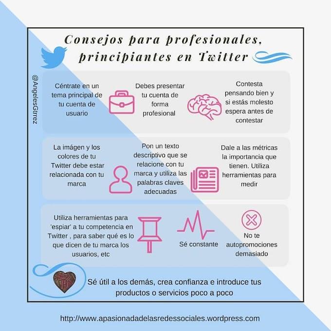 10 consejos para Profesionales que empiezan en Twitter