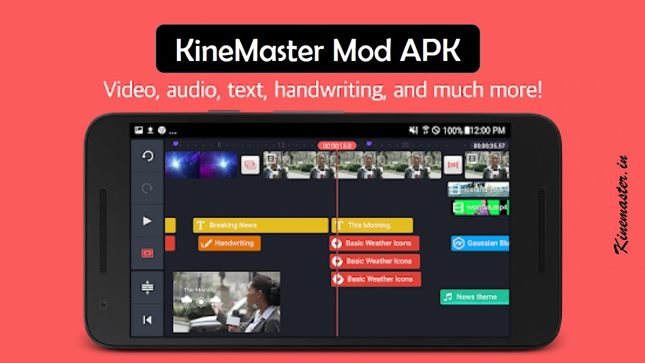 Fully Unlocked Kinemaster Mod APK Free download (without watermark)