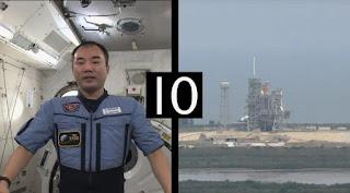 Sesame Street Episode 4310 Afraid of the Bark season 43, Astronaut Soichi Noguchi who counts down the launch of a rocket