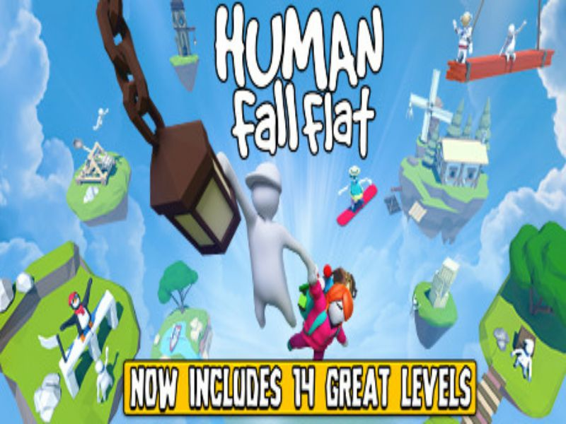 Download Human Fall Flat Game PC Free