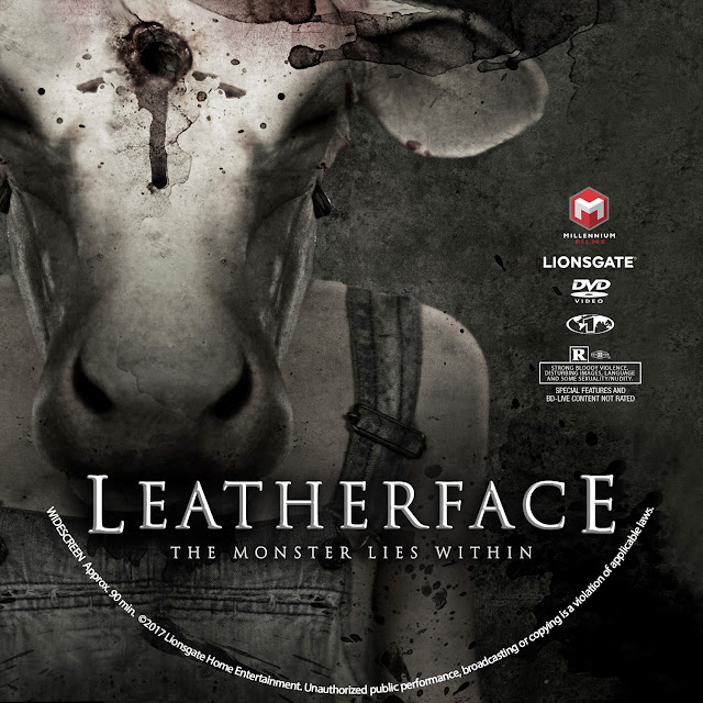 Leatherface DVD Label