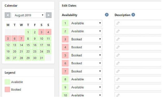 WP Booking System - 5+ Plugin Booking Hotel Terbaik di Wordpress