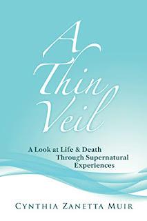 A Thin Veil: A Look at Life & Death Through Supernatural Experiences book promotion sites Cynthia Muir