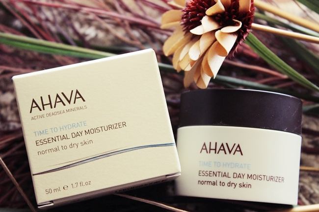 AHAVA Essential Day Moisturizer for dry and normal skin