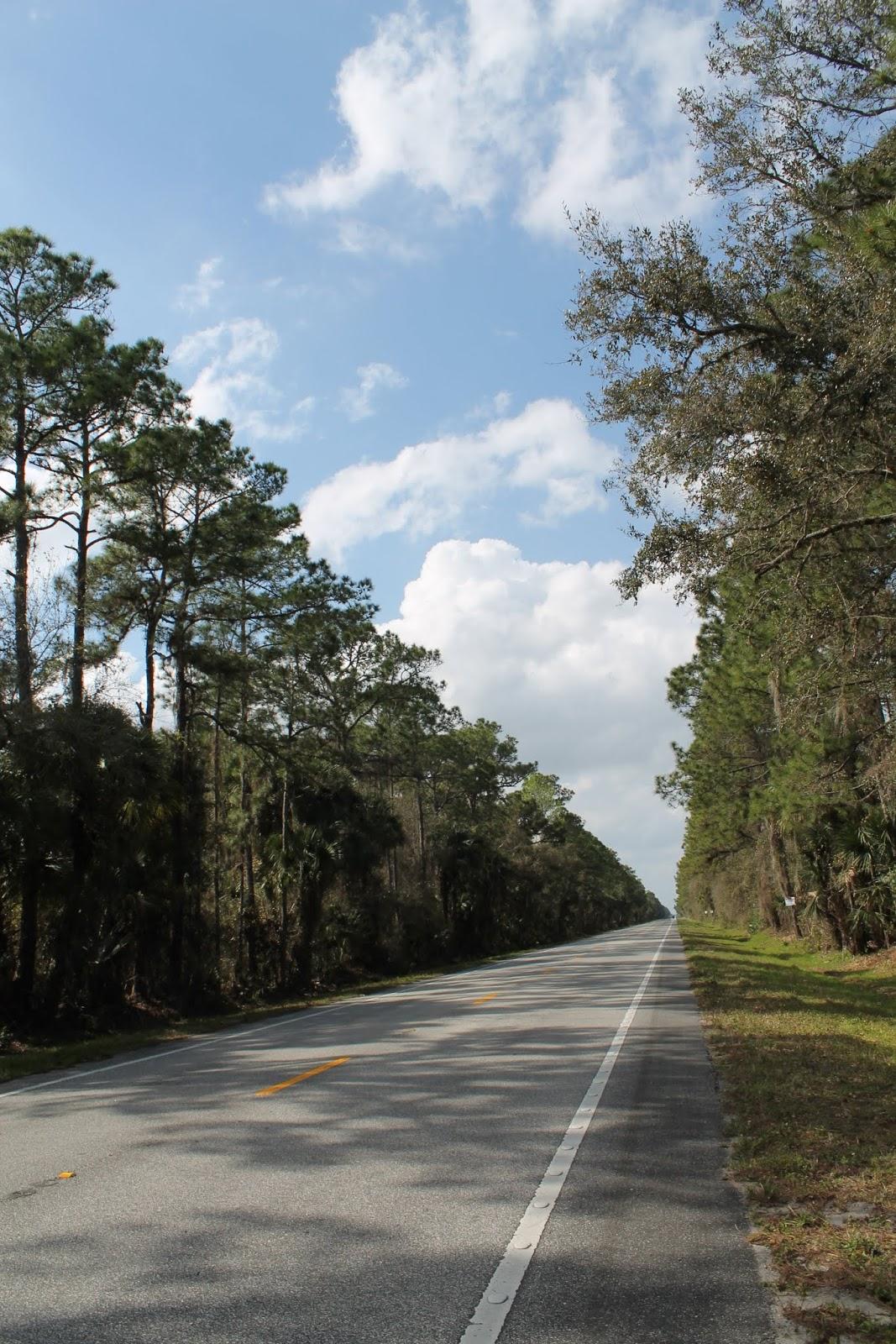 SR 46 hacia el oeste