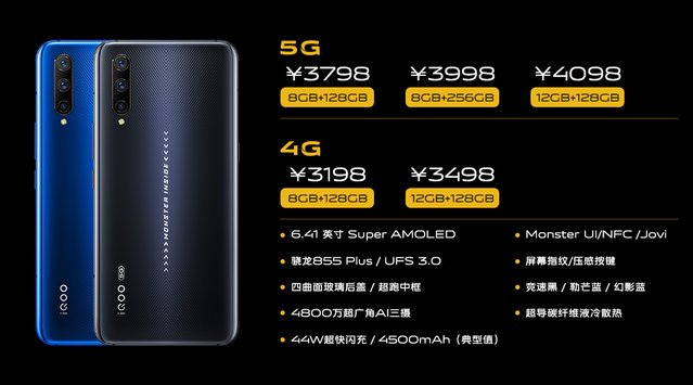 Vivo iQoo Pro with new Snapdragon 855 Plus launched in China