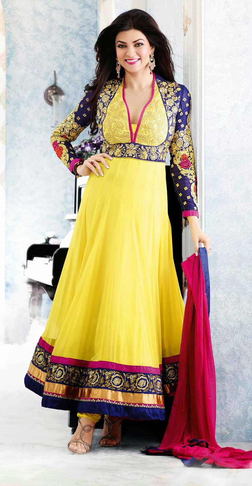Anarkali lehenga choli online shopping