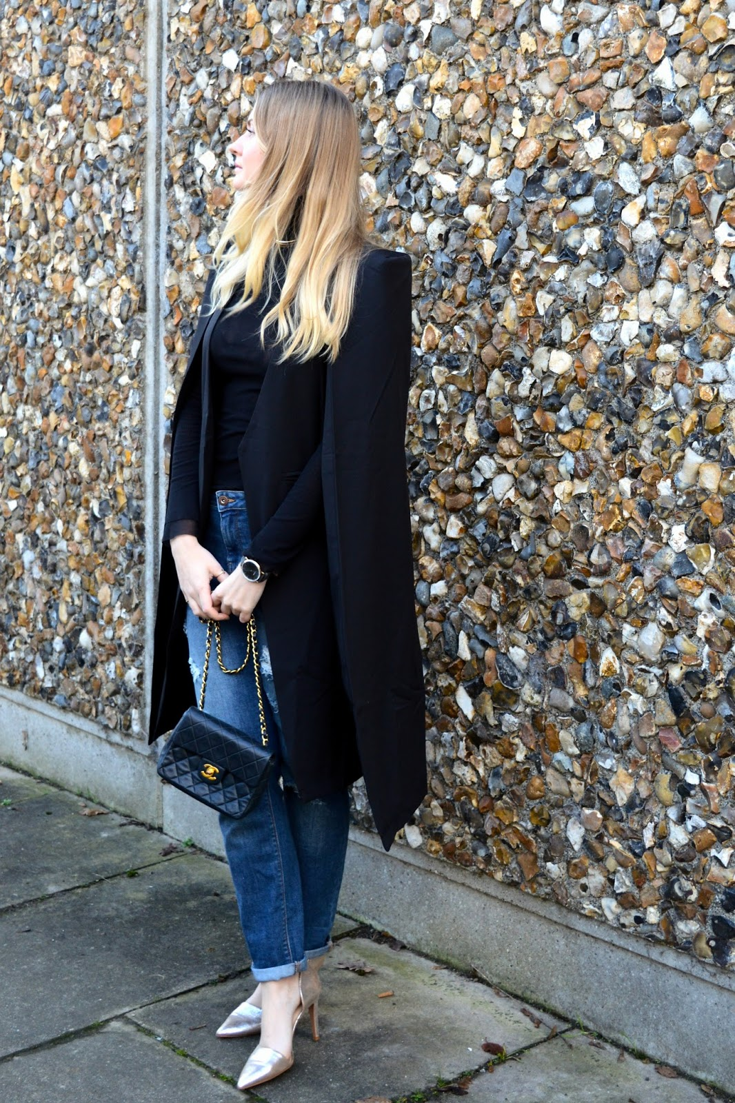 How to style a cape coat, UK fashion blog, fashion bloggers UK