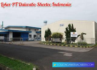 Lowongan Kerja PT Daiwabo Sheetec Indonesia di Plumbon Cirebon 2020