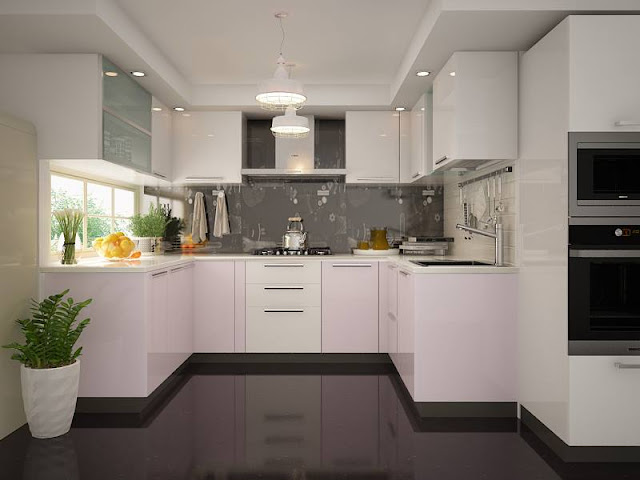 European White Kitchen Cabinets