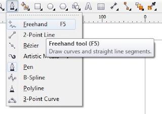 Cara Membuat Garis Lurus di Corel Draw