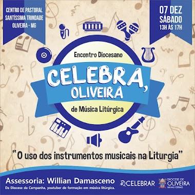 VEM AÍ! - Celebra, Oliveira!
