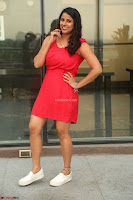 Shravya Reddy in Short Tight Red Dress Spicy Pics ~  Exclusive Pics 006.JPG