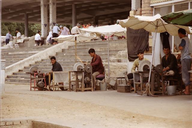Ouzbékistan, Tachkent, Chorsu, © L. Gigout, 2001