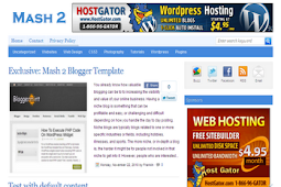 Blogger Indonesia | Blogger Templates | Tutorial .
