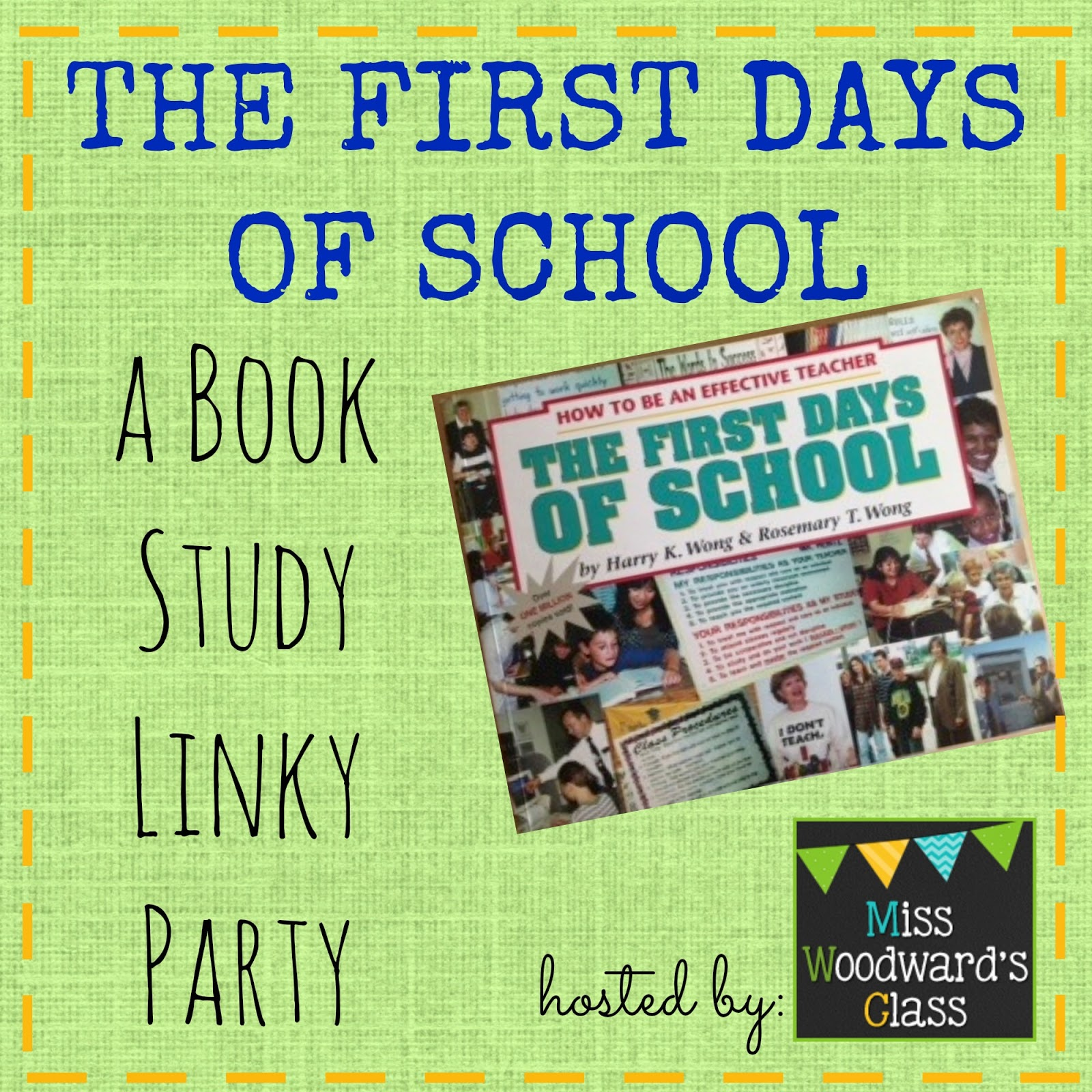 Miss Woodward S Class The First Days Of School Unit A Linky