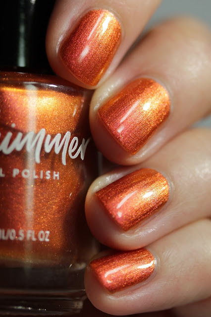 KBShimmer Spice Things Up swatch by Streets Ahead Style