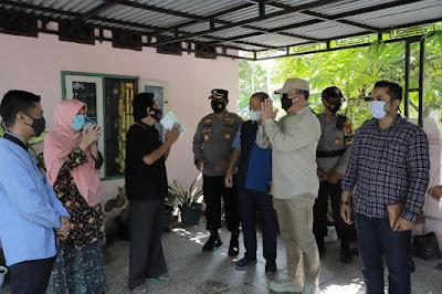 Kapolda Riau Tinjau Pelaksanaan PPKM Mikro Di Dua Kelurahan Kota Pekanbaru