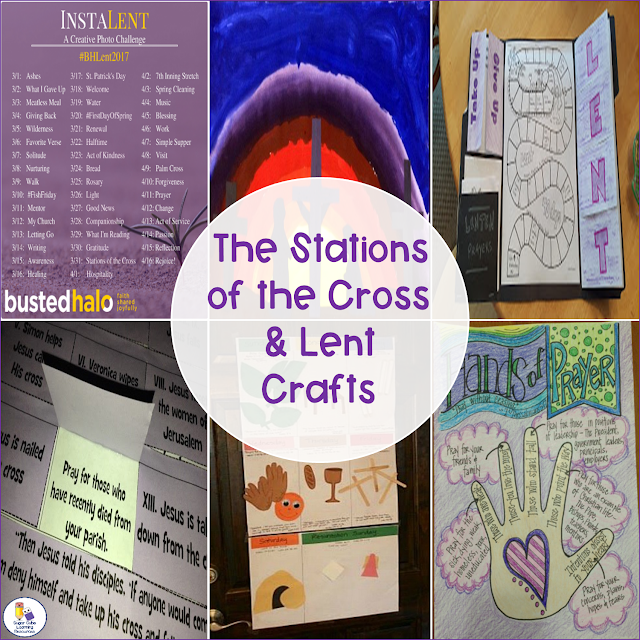 Six crafts/activities for Lent