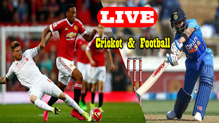 Football and Cricket Match Live