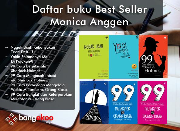 Buku karya best seller monica anggen