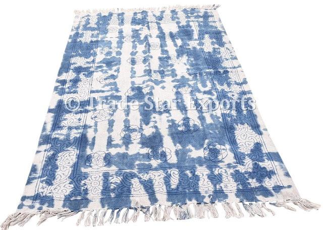 Cotton Tie Dye Rugs