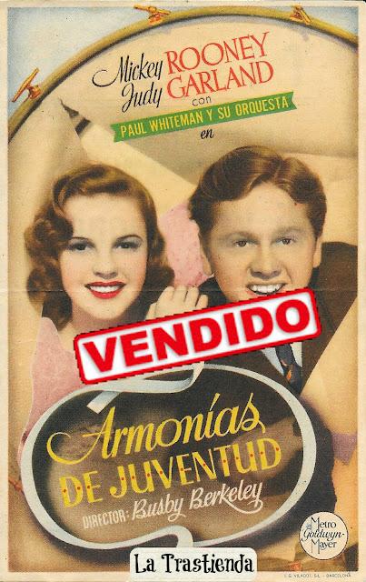 Programa de Cine - Armonías de Juventud - Mickey Rooney - Judy Garland