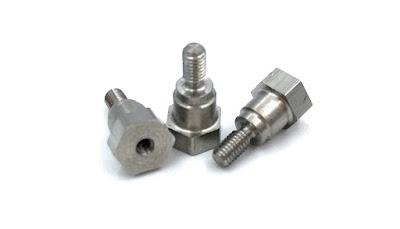 Custom Hex Shoulder Standoffs - 316 Stainless Steel