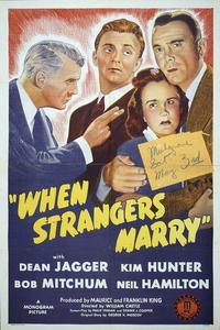Watch When Strangers Marry Online Free in HD