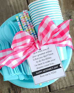 Mothers Day Paper Plate Gift